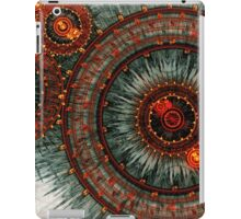 Fiery  clockwork iPad Case/Skin