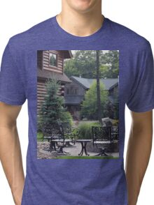 Lonely porch Tri-blend T-Shirt