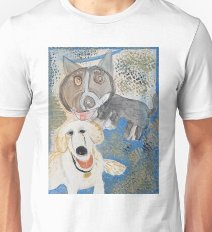 Dodger and Buffy by Dylan and Peter Unisex T-Shirt