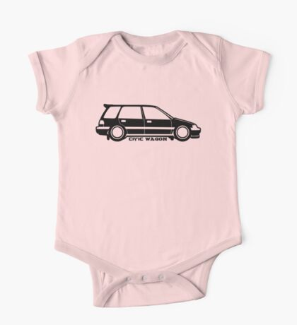 CiVic WAGON  One Piece - Short Sleeve
