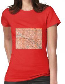 PARIS (CITY CENTER) Womens Fitted T-Shirt