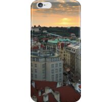 Prague Sunset iPhone Case/Skin