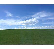 Simple Landscape Photographic Print