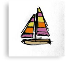Lil Boat Canvas Print