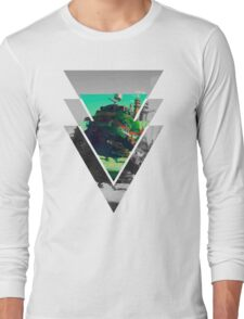 Howls Moving Castle- Studio ghibli Long Sleeve T-Shirt