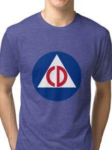 Civil Defense Tri-blend T-Shirt