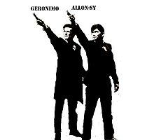Allon-sy; Geronimo Photographic Print