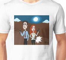 """Um, Scully."" ""...Yeah, Mulder?"" ""This one goes to 11."" Unisex T-Shirt"