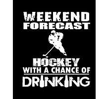 Hockey- Limitted Edition Sports T Shirt Photographic Print