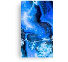Galaxy Blue Canvas Print