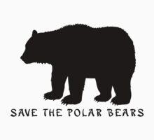 Save the Polar Bears! Baby Tee