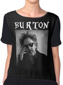 Tim Burton - Portrait Chiffon Top