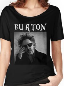 Tim Burton - Portrait Women's Relaxed Fit T-Shirt
