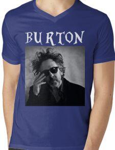 Tim Burton - Portrait Mens V-Neck T-Shirt