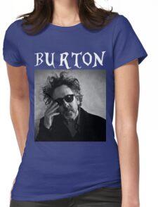 Tim Burton - Portrait Womens Fitted T-Shirt