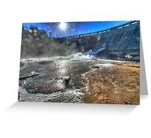 Wellington Dam Greeting Card