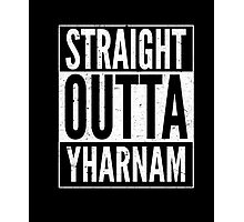 Limited Edition Straight Outta Yharnam T Shirt Photographic Print