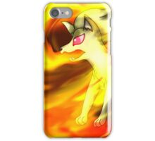 The Flaming Beauty, Ninetails iPhone Case/Skin