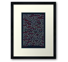 Led Zeppelin - Stairway to Heaven Framed Print