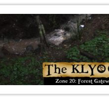 Zone 20: Forest Gateway Protected Forest Habitat: Pic 06 of 13 Sticker