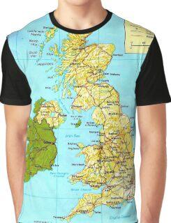 UNITED KINGDOM (MAP) Graphic T-Shirt