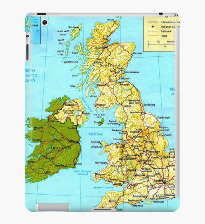 UNITED KINGDOM (MAP) iPad Case/Skin