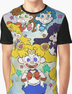 Sailor Moon Kawaii Graphic T-Shirt