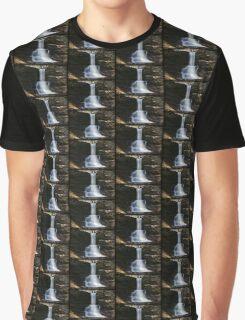 Sheldon Reynolds Falls Spring Afternoon Graphic T-Shirt