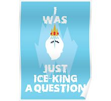 Adventure Time Ice King Poster