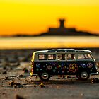 Hippie sundown by Gary Power