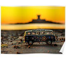 Hippie sundown Poster