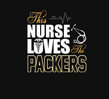 Sports Gear Football Tshirt Nurse Loves The Packers Unisex T-Shirt