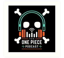 The One Piece Podcast - Maji Logo Art Print