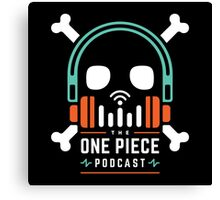 The One Piece Podcast - Maji Logo Canvas Print