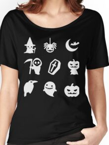 Funny Halloween -  With 9 Item for Halloween Shirt Women's Relaxed Fit T-Shirt