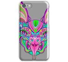 Psychedelic Bat iPhone Case/Skin
