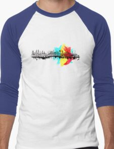 Long City Men's Baseball ¾ T-Shirt