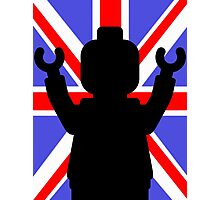 Minifig Union Jack Photographic Print