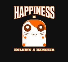 happiness is holding a hamster Unisex T-Shirt