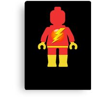 Lightning Minifig Canvas Print