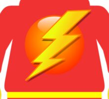 Lightning Minifig Sticker