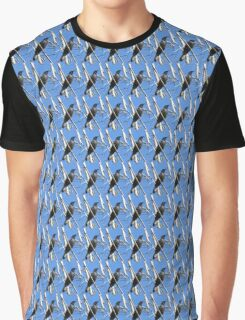 Common grackle (Quiscalus quiscula) Graphic T-Shirt