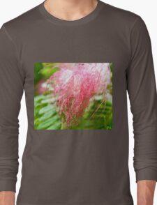 Costa Rican Pink Flower Long Sleeve T-Shirt