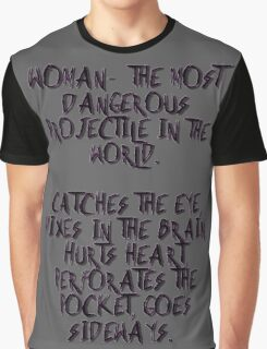 Woman... Graphic T-Shirt