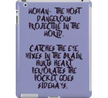 Woman... iPad Case/Skin