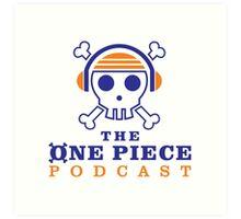 The One Piece Podcast - Main Logo Art Print