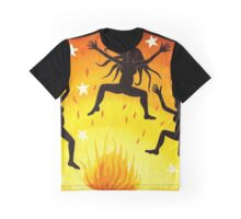 Dancing Wild Graphic T-Shirt