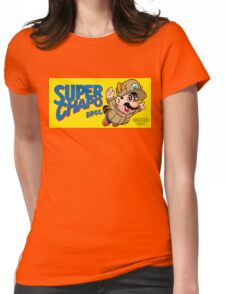 Super Chapo Bros Womens Fitted T-Shirt