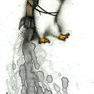 Rocket Penguin by Kaitlin Beckett