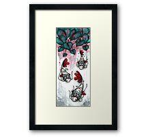 Three Samurai Fish Framed Print